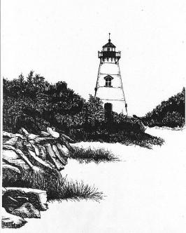 bw lighthouse beach3grayS