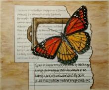 Entomology Study. Watercolor.