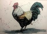 Sold. Flights of Fancy 3 Watercolor