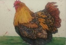 Sold. Flights of Fancy 5 Watercolor