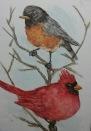 Sold. Watercolor