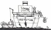 bailing ship