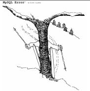MySQL Error Bob goes Alpine