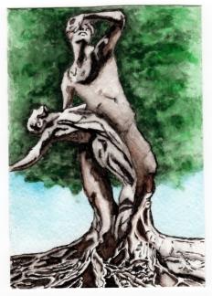 Sold. Watercolor.