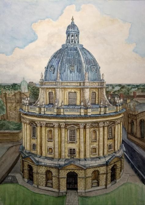 The Radcliffe Camera Oxford Watercolor