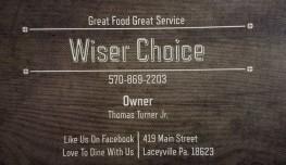 wiserchoicecard